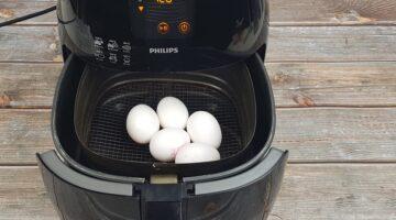 Leer hier hoe je eieren in de Airfryer kookt en gebruik nooit meer een pan met water!